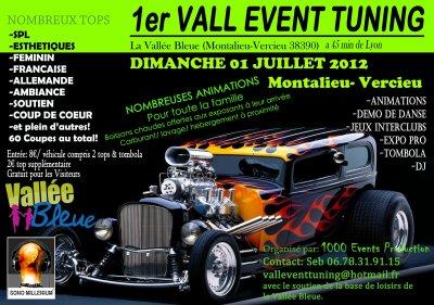 VALL EVENT TUNING La vallée bleue Montalieu Vercieu 01 juillet 2012
