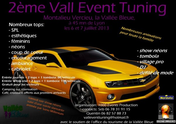 2 eme VALL EVENT TUNING
