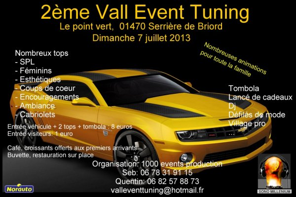 2eme VALL EVENT TUNING