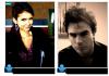 _ Matt Davis a posté ces deux photos sur son twitter avec le texte ci dessous. (ce sont bien évidemment Nina et Ian et non des doublures :p drôle ce Matt!) Les photos : * - *