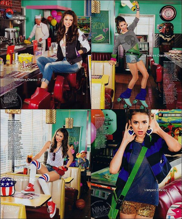 _ Nina Dobrev - InStyle Magazine Germany Mars 2011 _