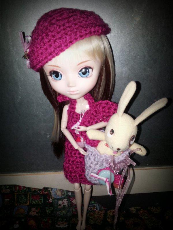 Petite tenue en crochet thème gourmandise