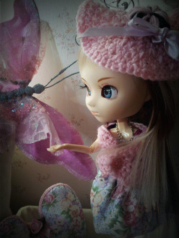 Alice et le jardin aux papillons