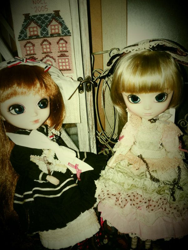 Séraphine et Lily-Rose