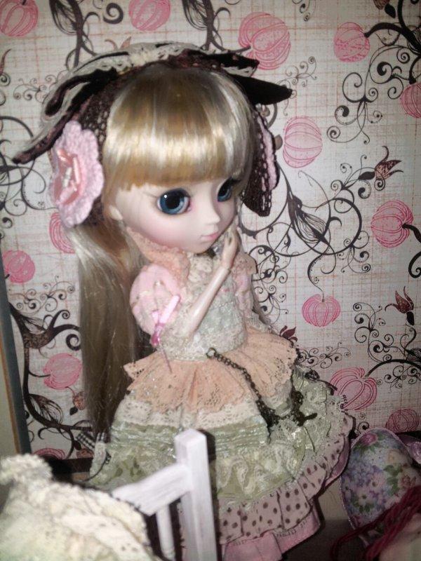 1 ère scéance photos de Lily-Rose