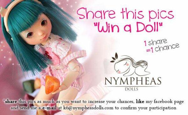 "Concours ""Nympheas dolls"""