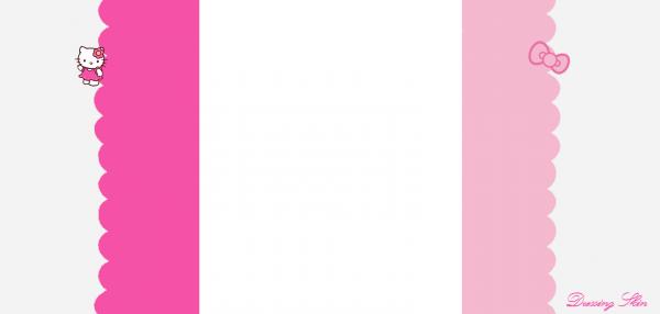 Habillage n°1 : Hello Kitty