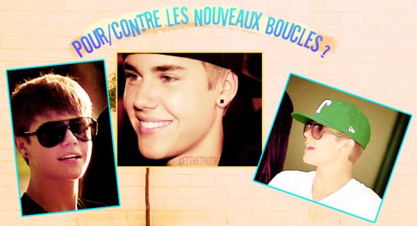Des nouveaux boucles d'oreilles pour Mr.Justin  ♥