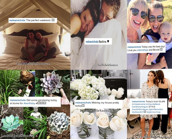 #Instagram 4 - Lea a encore poster pleins de photos :)