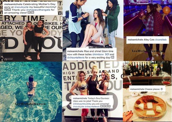 #Instagram 6 - Lea a poster de très belles photos sur son compte instagram dont une photo avec sa maman