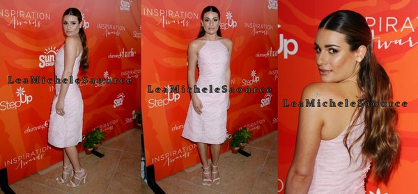 #Evénement 6 - Lea était au Step Up's 13th Annual Inspiration Awards at The Beverly Hilton