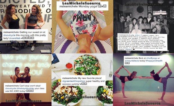 #Instagram 9 - Lea a encore posté pleins de photos sur Instagram