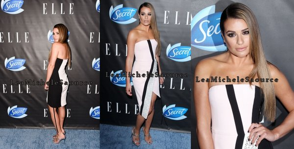 #Evénement 9 - Le 07 Juin Lea était présente au ELLE Hosts Women In Comedy Event, West Hollywood