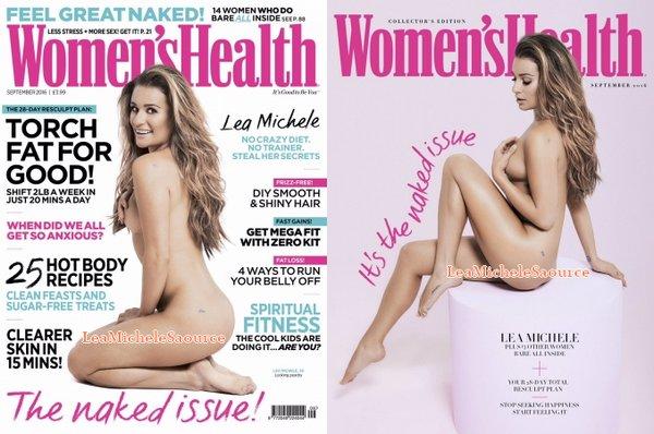 #Photoshoot 1 - Août Un photoshoot de Lea nue pour le magazine Women's Health est apparue