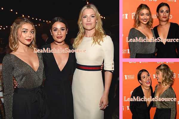 #Evénement 18 - Le 28 Septembre Lea était au No Kid Hungry Dinner à Los Angeles