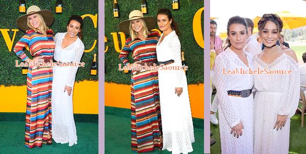 #Evénement 20 - Le 15 octobre Lea était au 7th Annual Veuve Clicquot Polo Classic