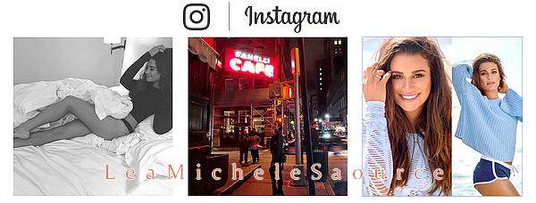 #Instagram 11 - Voici les dernières photos que Lea a posté sur Instagram