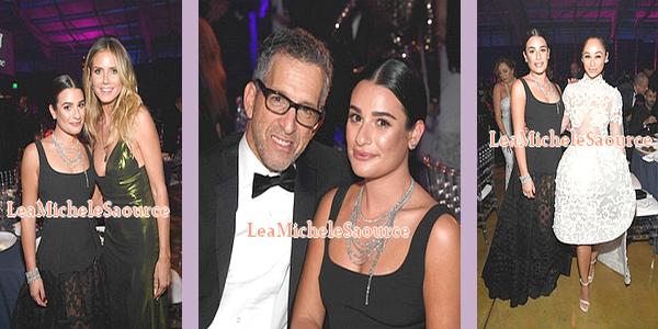 #Candid 41 / #Evénement 22 - Le 27 octobre Lea a était vue faisant du shopping avec Brad Goreski à Beverly Hills et le soir elle était au AmfAR Inspiration Gala à Los Angeles