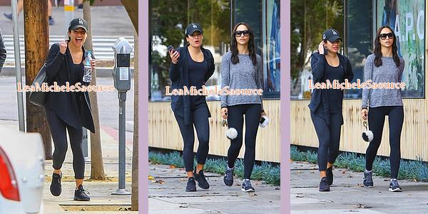 #Candid 58 - le 07 janvier Lea quittant la salle de sport avec une amie à West Hollywood