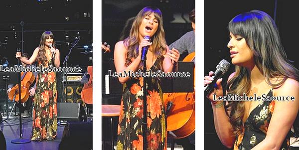 #Candid 63 / #Concert 3 - Le 26 Janvier Lea a était vue arrivant au Apple Room à New York