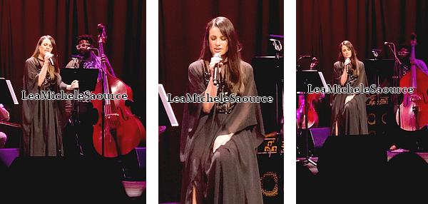 #Concert 4 / # Candid 64 / #Evénement 29 - Le 30 Janvier Lea a donné un concert à Santa Monica