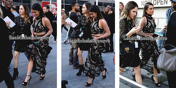 #Evénement 30 / Candid 65 - Le 12 Février Lea était au 59th GRAMMY Awards au Staples Center