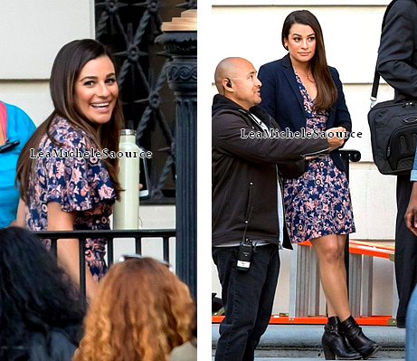 "Candid 69 / Evénement 33 - Le 21 Mars Lea sur le tournage de ""Untitled City Mayor Project"""