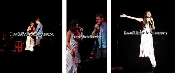 #Concert 6 - Le 01 Mai Lea a donné un concert avec son meilleur ami Jonathan Groff à Philadelphie en Pennsylvanie