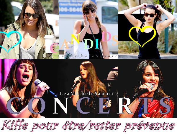 #Concert 7 / #Candid 73 - Le 06 Mai Lea a donné un concert à Toronto dans le Canada