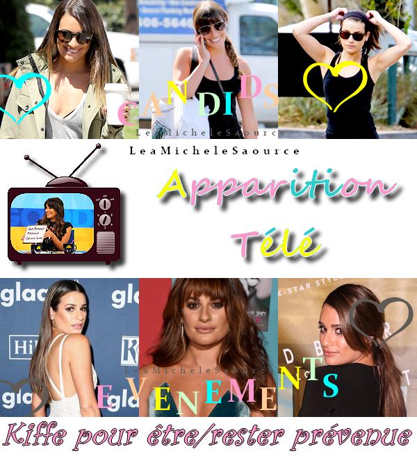 #Apparition TV 4 / Candid 75 / Evénement 40 - Le 22 Mai Lea était dans l'émission Fashion Police