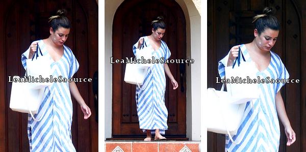 #Candid 1/ #Evénement 1/ #Photoshoot 1 - Le 02 Août Lea a été vue quittant la maison d'une amie à Los Angeles