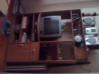 Meuble tv rangement salon divers a vendre for Grand meuble tv avec rangement