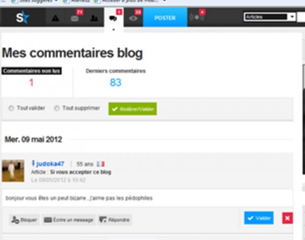 lsez le titre du blog avant de laissaisser vos commentaires