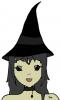 Premier dessin graphique - sorcière