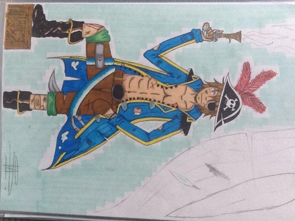 Un pirate !! De Raven