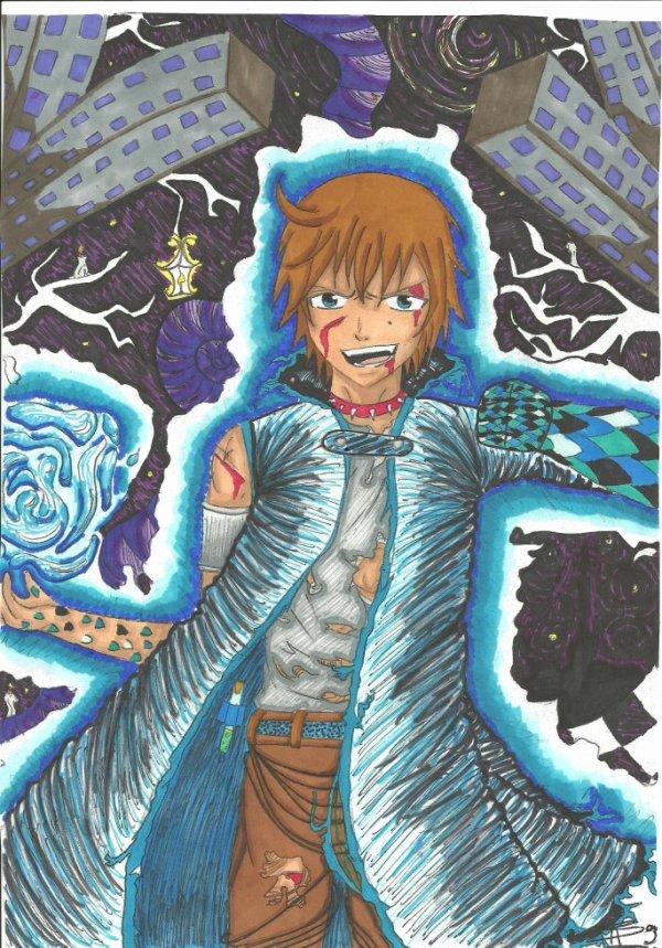 un dessin de Raven =) c'est mon perso de fairy tail !! comment il est ??