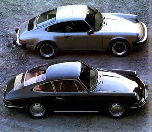"""La plus mythique des Porsche la """"911""""."""