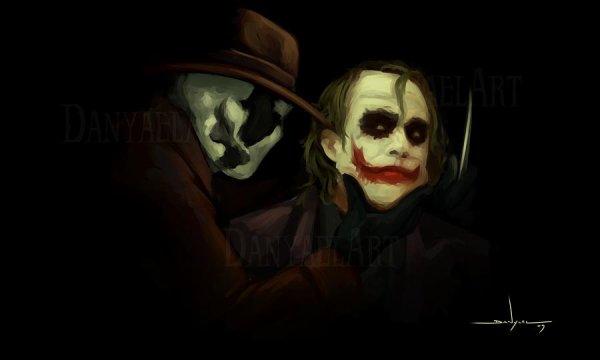 Rorschach et Joker
