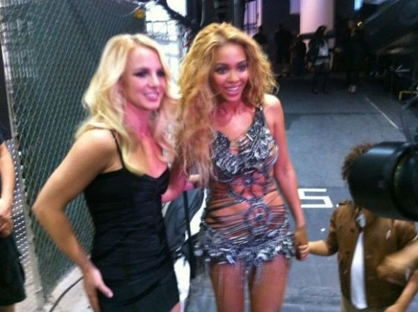 Back Stage des BillBoard Awards 2011