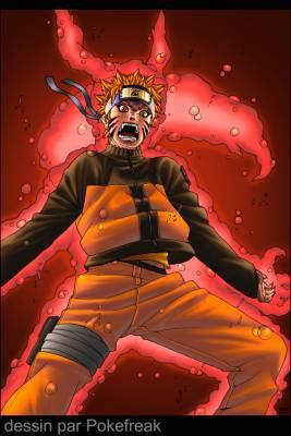 Naruto en mode demon renard dajas riders and naruto - Demon de sasuke ...