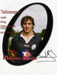 Mathieu à l'UA Gaillac