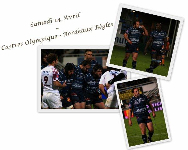 Samedi 14 Avril 2012 : Castres - Union Bordeaux-Bègles