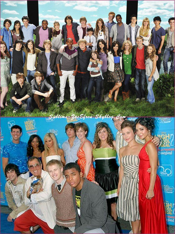 Zac Efron et les autres stars disney