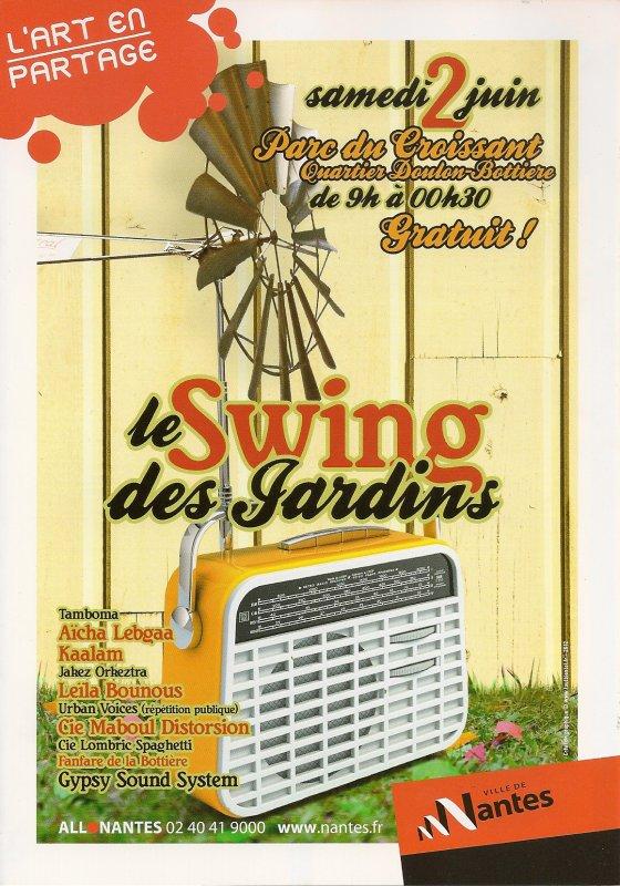 SWING DES JARDINS 2012