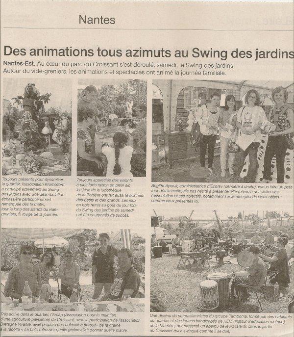 le swing 2012: une réussite!!!