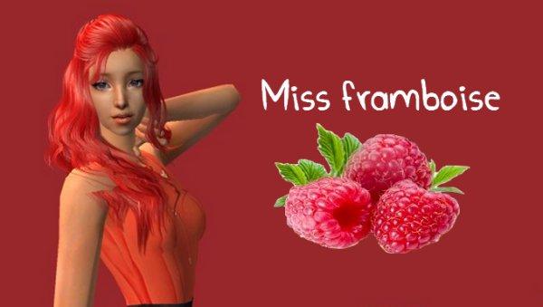 ~ Miss Framboise ~ Finaliste