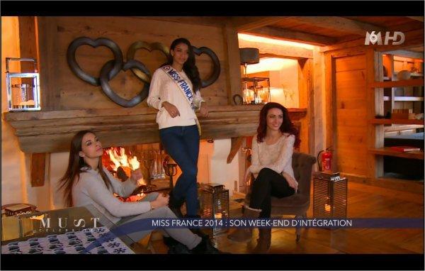 Marine va retrouver les autres miss dont Flora pour faire du ski à Megève 4