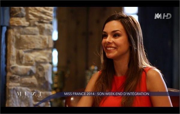 Marine va retrouver les autres miss dont Flora pour faire du ski à Megève 5
