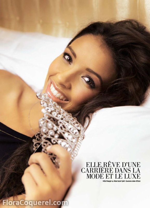 Premier shooting photo de Flora Coquerel