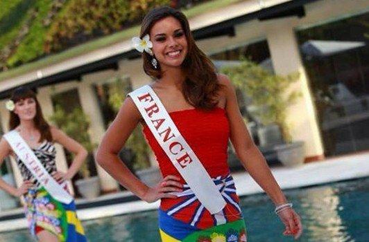 Marine est première dauphine de Miss World